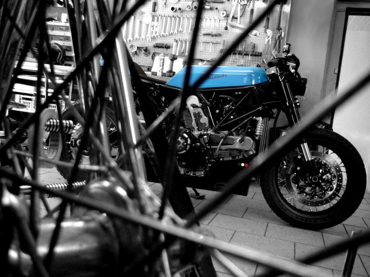 Ducati Sport 1000 Hill Climber ~ Return of the Cafe Racers