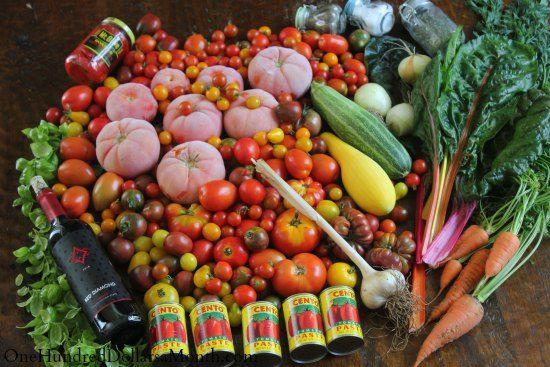 tomato sauce - heirloom, big batch