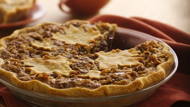 Cranberry-Raisin Maple Nut Pie ~ A deliciously different pie with a ...