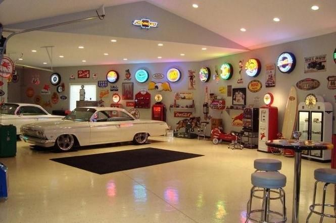 Decorating Ideas > Pin By Brad Campbell On MaN GarAgE!  Pinterest ~ 065649_Hot Rod Garage Decorating Ideas