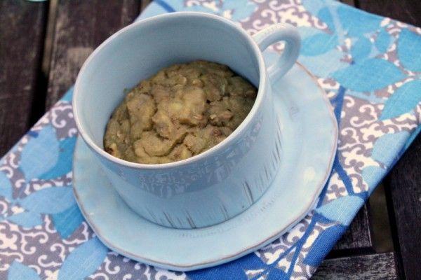 Mug Cake: Banana Nut Muffin