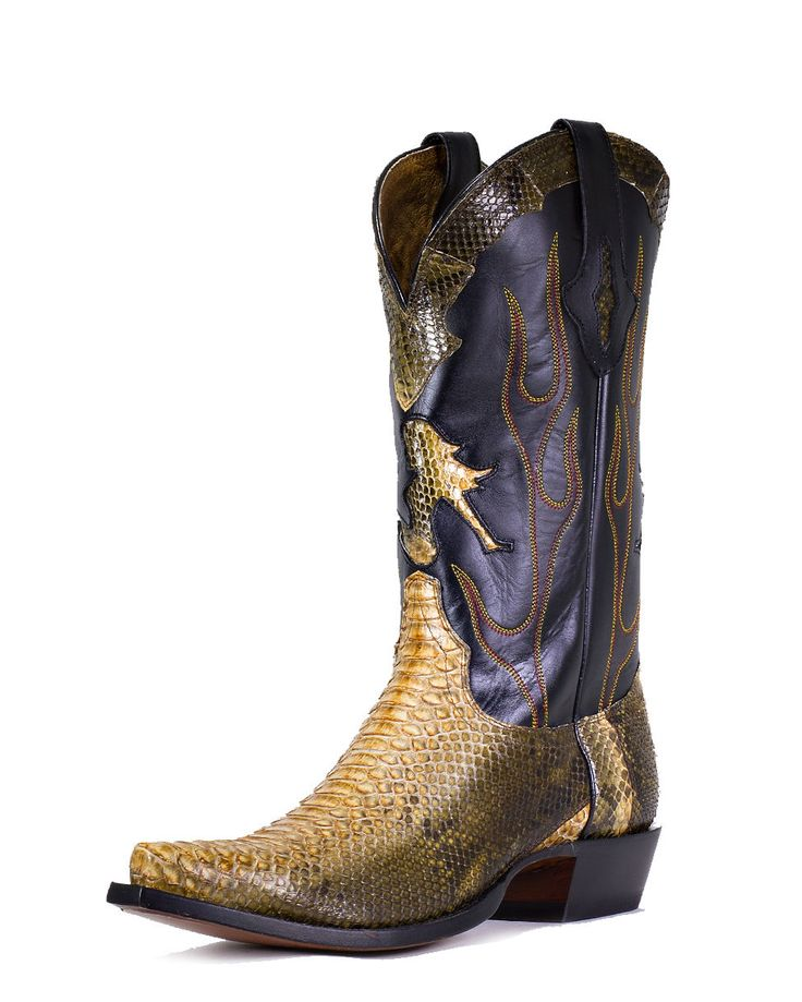 lucchese s jungle python boots these boots are made