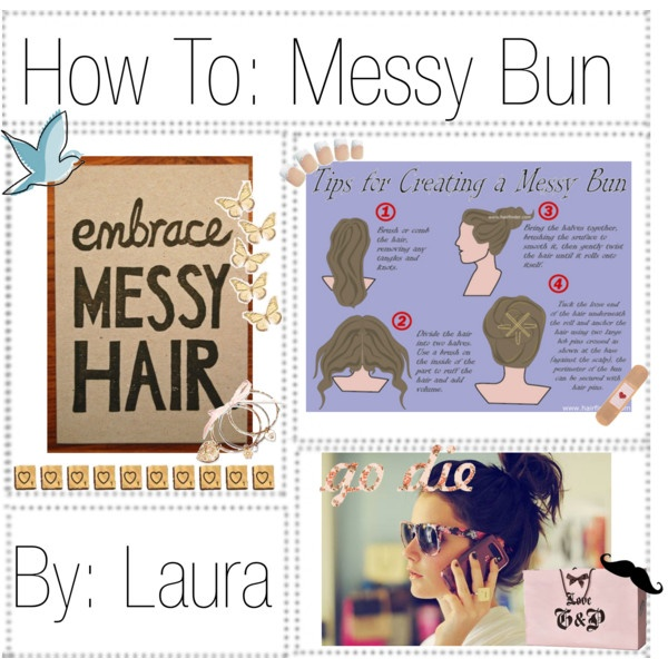 Awesome tips on creating the perfect messy bun