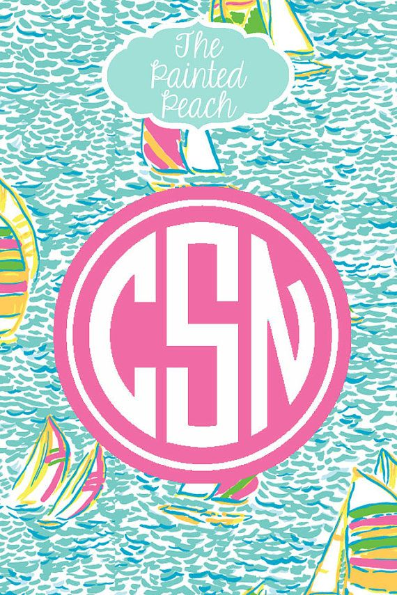 Lilly Pulitzer Iphone Backgrounds Monogram
