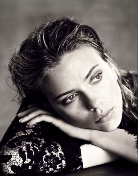 Scarlett Johansson (1984) - American actress, model and singer. Photo by Paolo Roversi