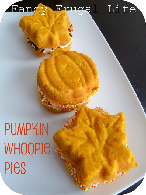 Pumpkin Whoopie Pies | Pumpkin Recipe's | Pinterest