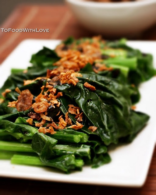 ... Love: Quick and Easy: Gai Lan (Chinese Broccoli) with Oyster Sauce