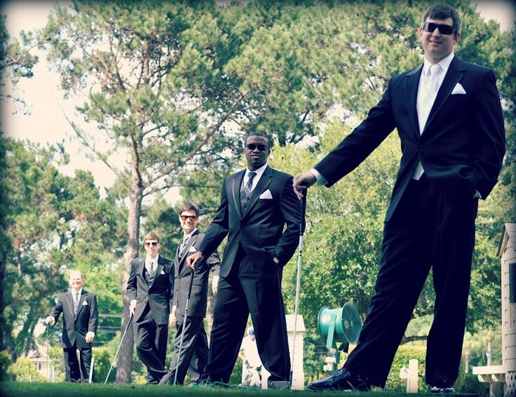 Wedding Gifts For Groomsmen Golf : Weddings, Groomsmen, Golf Wedding photo ideas! Pinterest