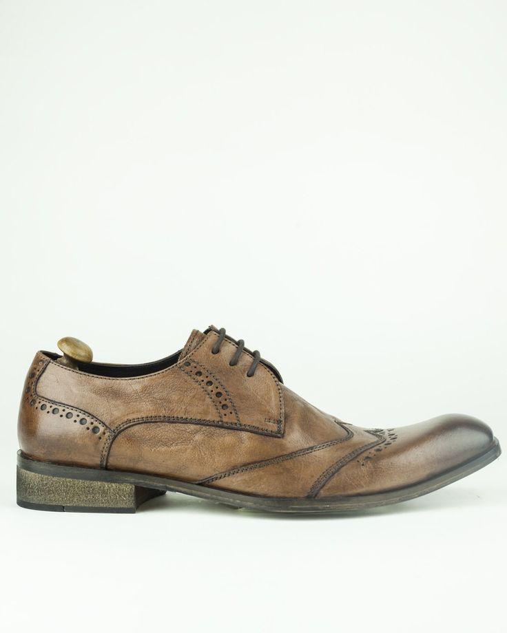 Stafford Tan Calf Leather