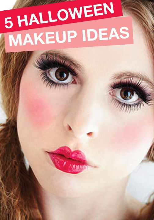 5 Last Minute Halloween Ideas with 5 Makeup Products - Last Minute Halloween Makeup