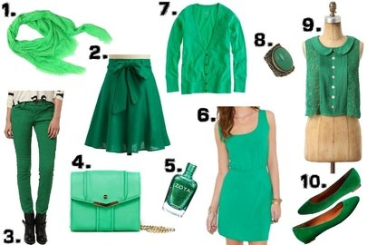Green Dress St Patricks Day