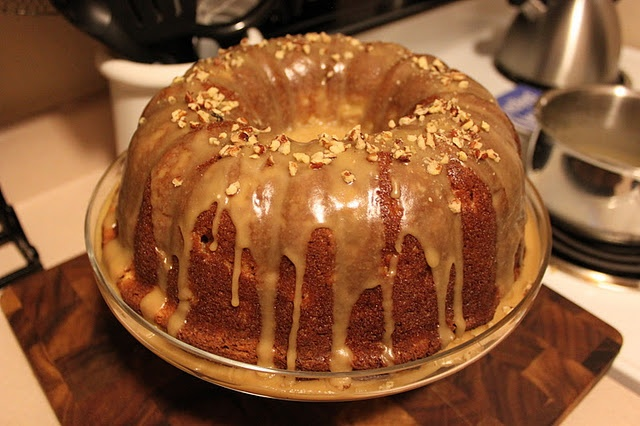 Apple Cream Cheese Bundt Cake. | Sweets for the Sweet | Pinterest