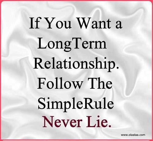 truths about long term relationships