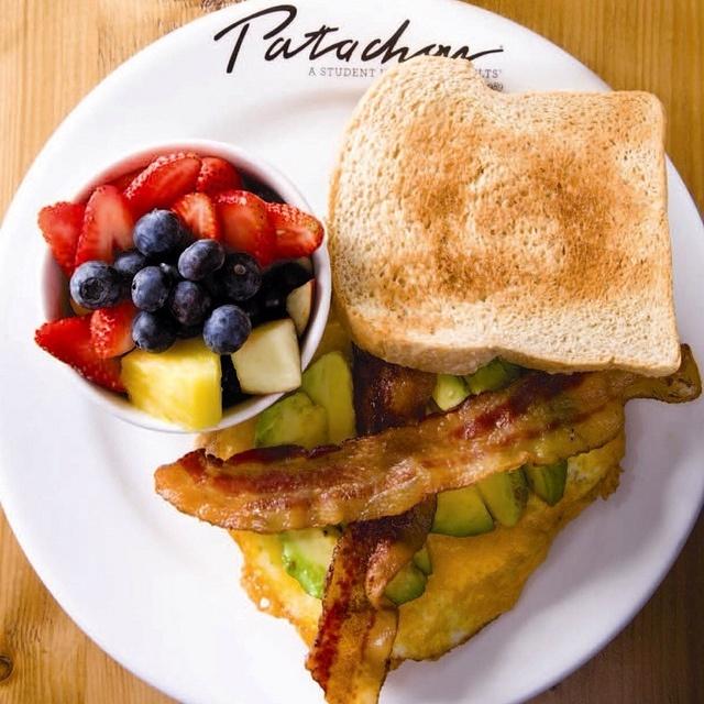 Avocado, bacon & egg sandwich at Patachou!
