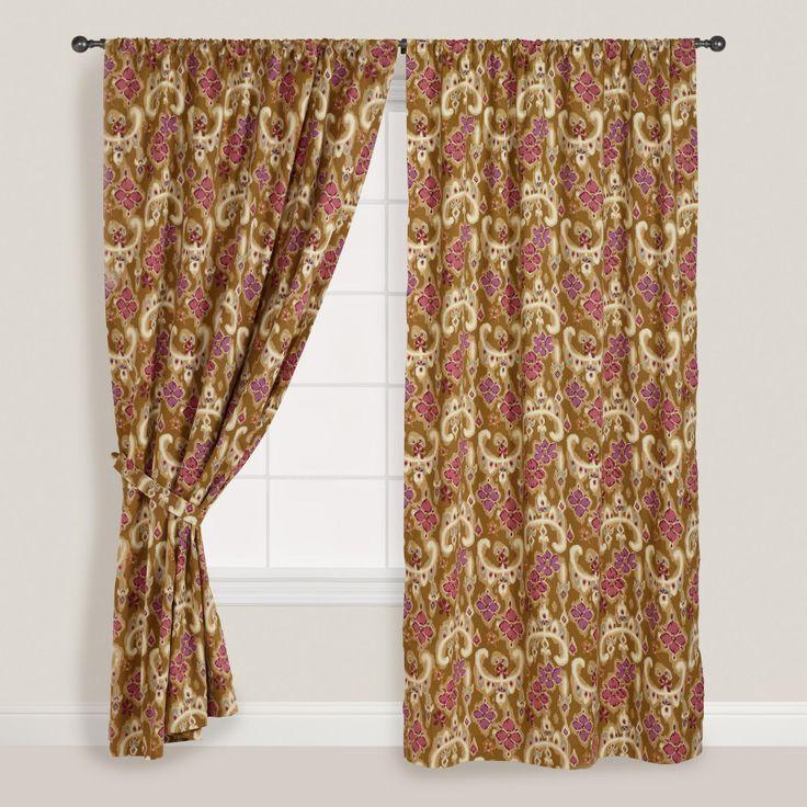 Heirloom Floral Curtain | World Market | Bedroom Inspirations | Pinte ...