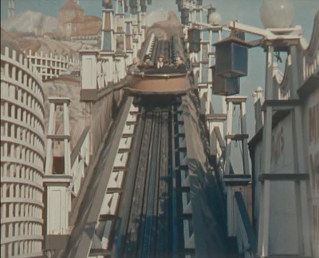 Vintage Backyard Roller Coaster : Roller Coasters