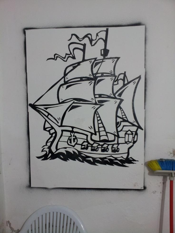 Pirate Ship Pirate Ship Clip Art Vector