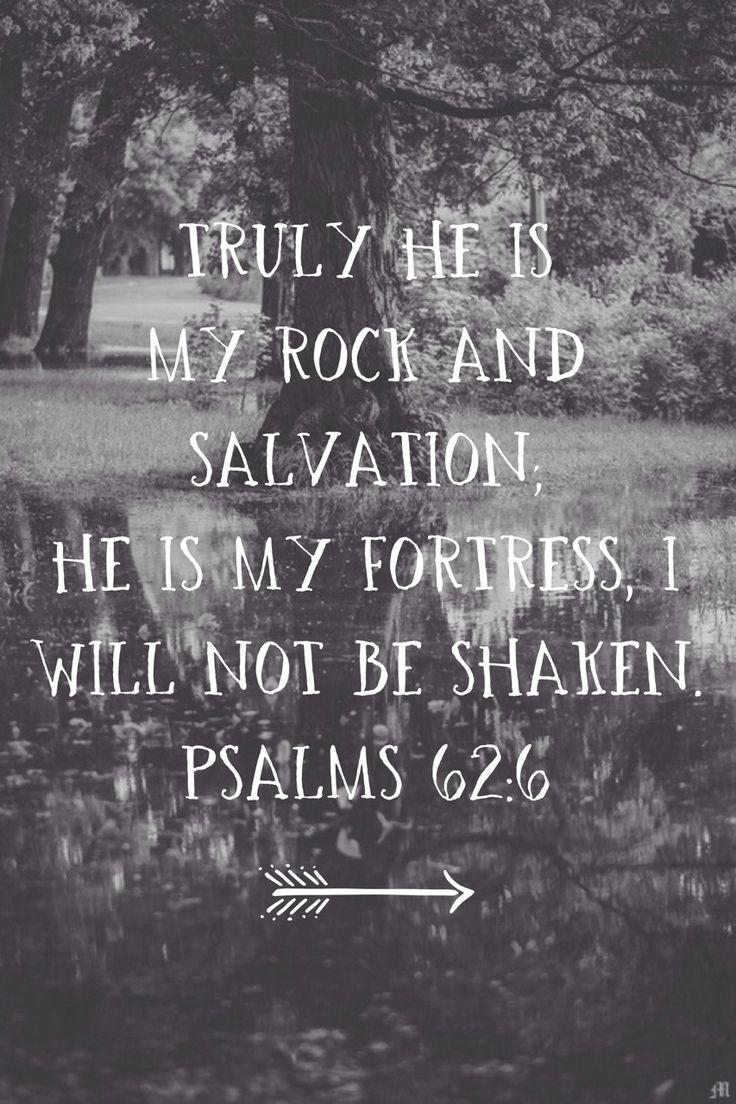 The narrow path to Jesus Christ: My rock