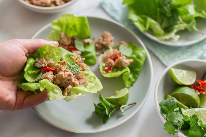 chicken lettuce cups recipe - my all time favorite dish! So clean and ...