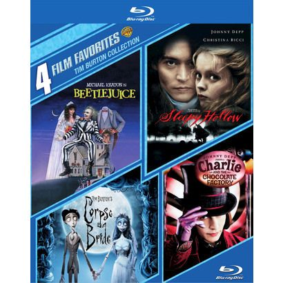 site tim burton collection discs with book blu ray .p