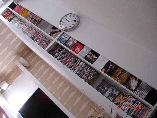 Dvd Storage Places Decoration Ideas Pinterest