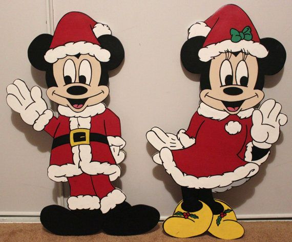 Christmas sale 26 quot disney minnie mouse or mickey mouse decoration