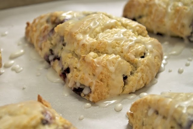 cherry scones | Great Foods | Pinterest