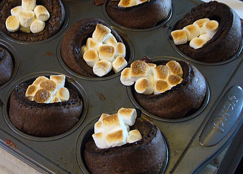 Hot Chocolate Popovers | Sweet | Pinterest