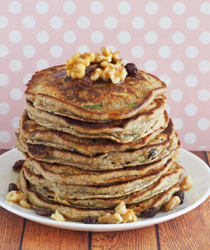 Zucchini Bread Pancakes | For Breakfast | Pinterest