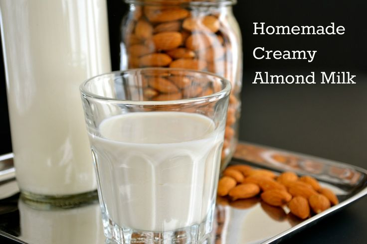 Homemade Creamy Almond Milk | Health(ish) Recipes | Pinterest