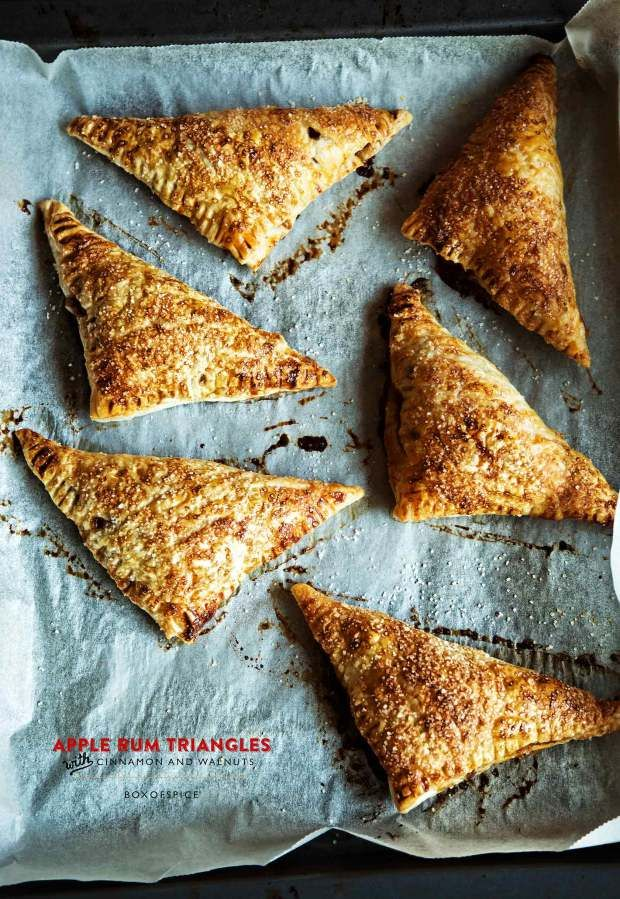 Apple Rum Triangles Recipe | Get Into Mah Belly | Pinterest
