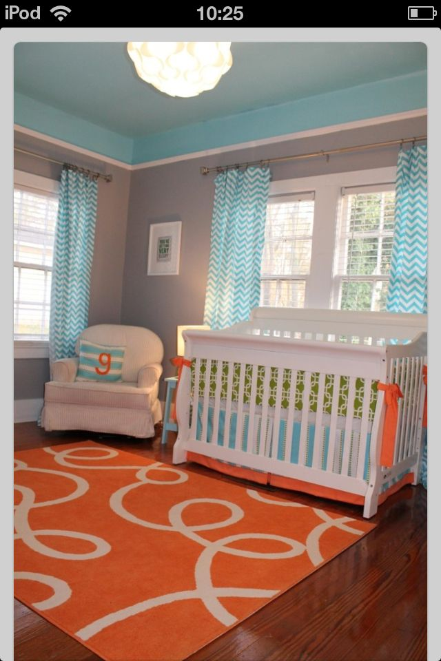 belle chambre bebe belle chambre de bb unisexe - Orange Chambre Bebe