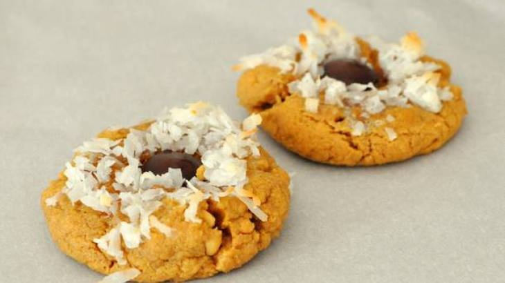 Peanut Butter Coconut Cookies | Coconut Sugar Recipe Ideas | Pinterest