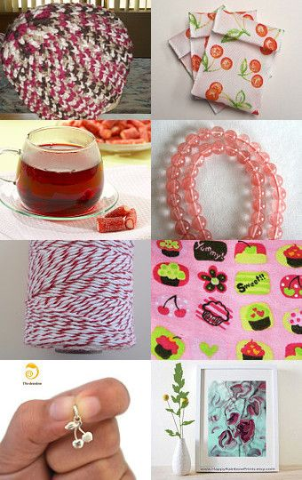 As Sweet as Cherries by mama chei on Etsy--Pinned with TreasuryPin.com