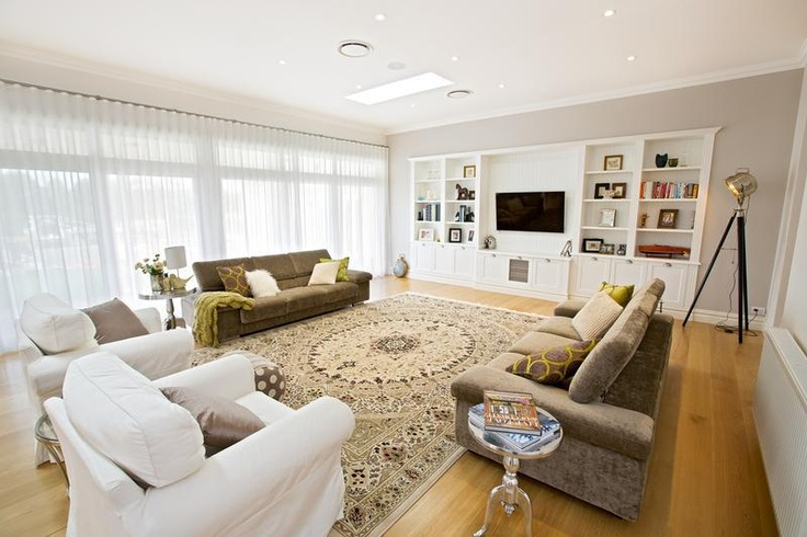 Hamptons style living room inspired spaces living for Decorating hamptons style living rooms