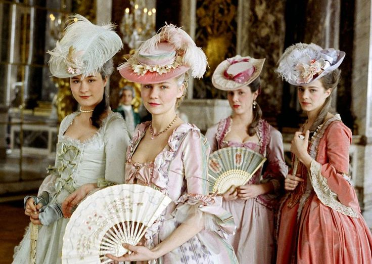 Period movies - marie antoinette hats