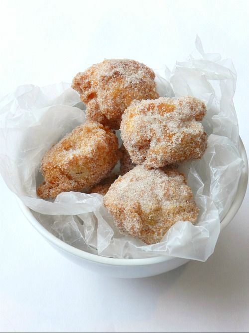 Brown Butter Donut Holes | Good Food- Sweet things | Pinterest