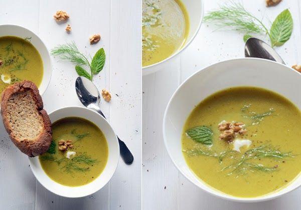 leek and fennel soup | healthy recipes | Pinterest