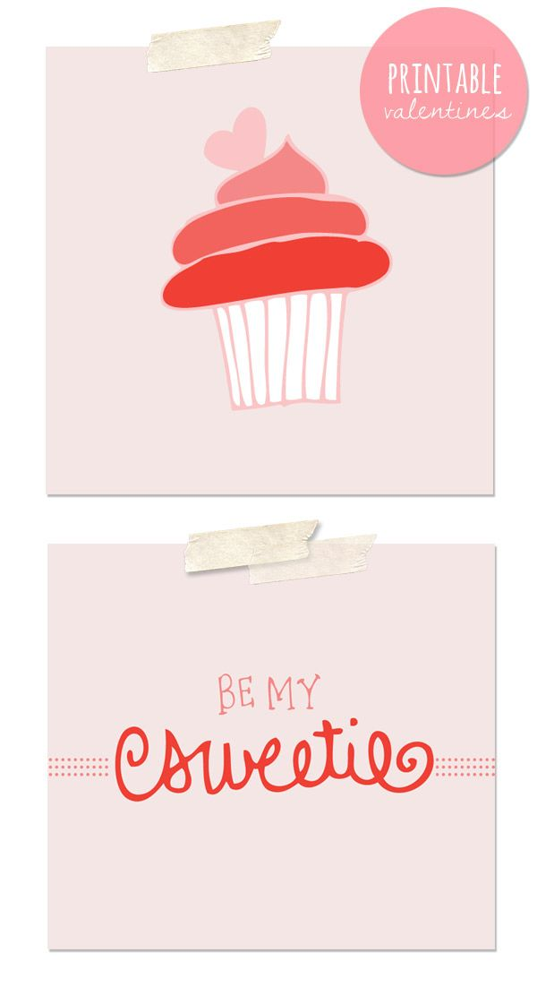 Printable Valentines by Miss Wyolene for The Sweetest Occasion