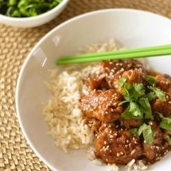 Lighter General Tso's Chicken | Foods and drinks we love | Pinterest
