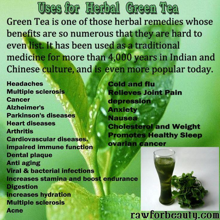Beauty Benefits Of Drinking Green Tea Daily
