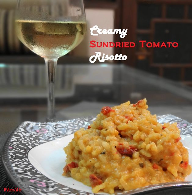 Creamy sun dried tomato risotto | Tasty Bites | Pinterest