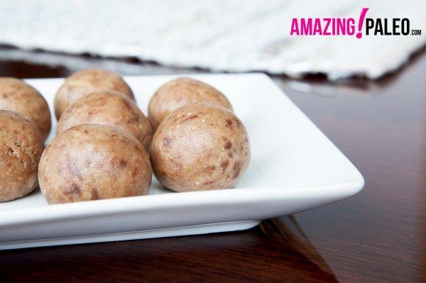 Power Balls – Cashew Butter, coconut, almond flour, maple syrup ...