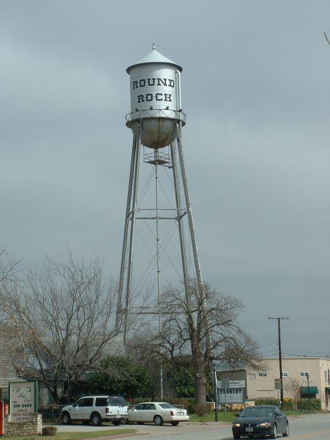 Round Rock Tx Old Water Tower Round Rock Texas