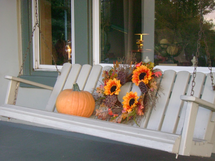 My Front Porch Fall Decorating Ideas Pinterest