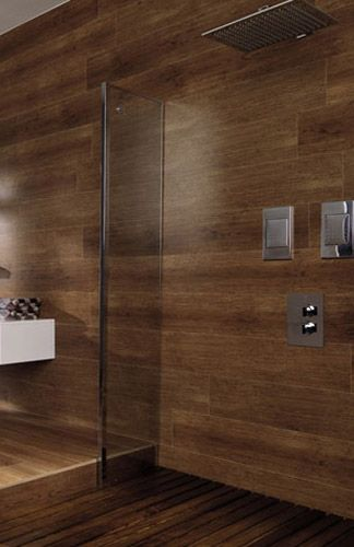 Wood like kitchen and bathroom tiles modern tile designs for Wood and tile bathroom