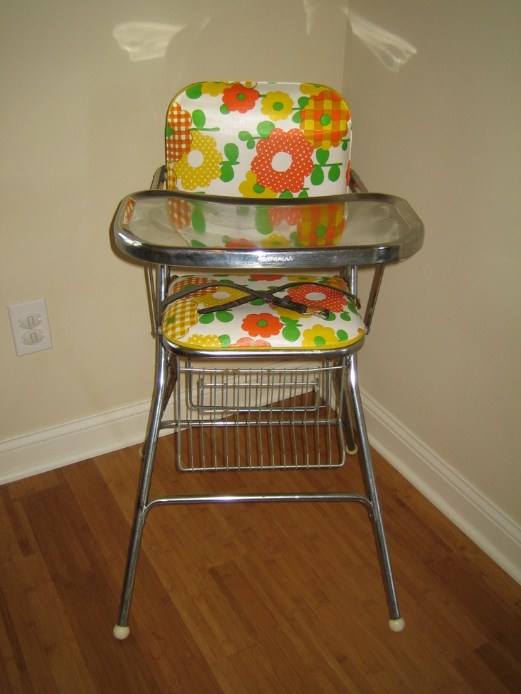 vintage high chair for the home pinterest