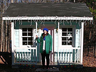 tiny house, house, winter
