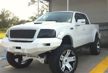 lifted white ford f 150 truck silly boys trucks are. Black Bedroom Furniture Sets. Home Design Ideas