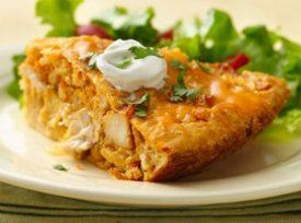 Impossibly Easy Chicken Taco Pie | Reciep box | Pinterest